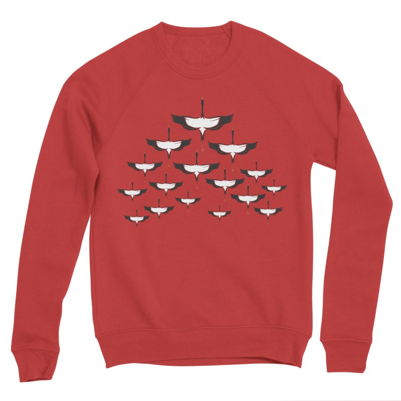 Chevron Men's Sponge Fleece Sweatshirt by YANMOS