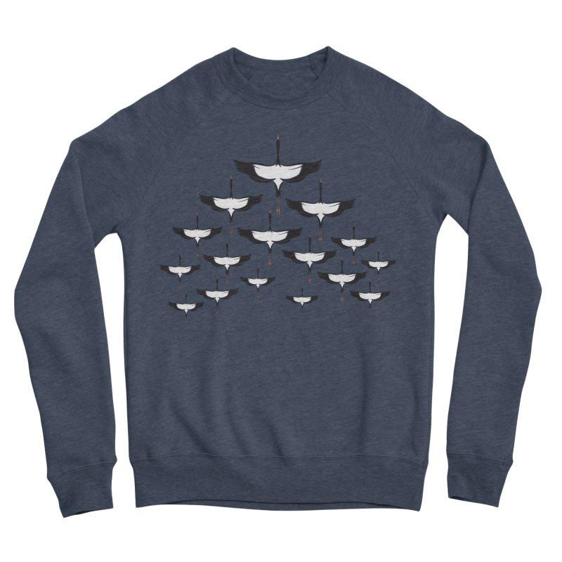 Chevron Women's Sponge Fleece Sweatshirt by YANMOS