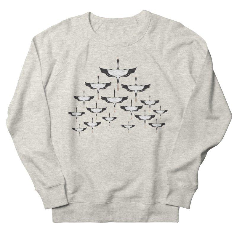 Chevron Men's French Terry Sweatshirt by YANMOS