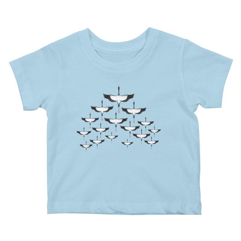Chevron Kids Baby T-Shirt by YANMOS