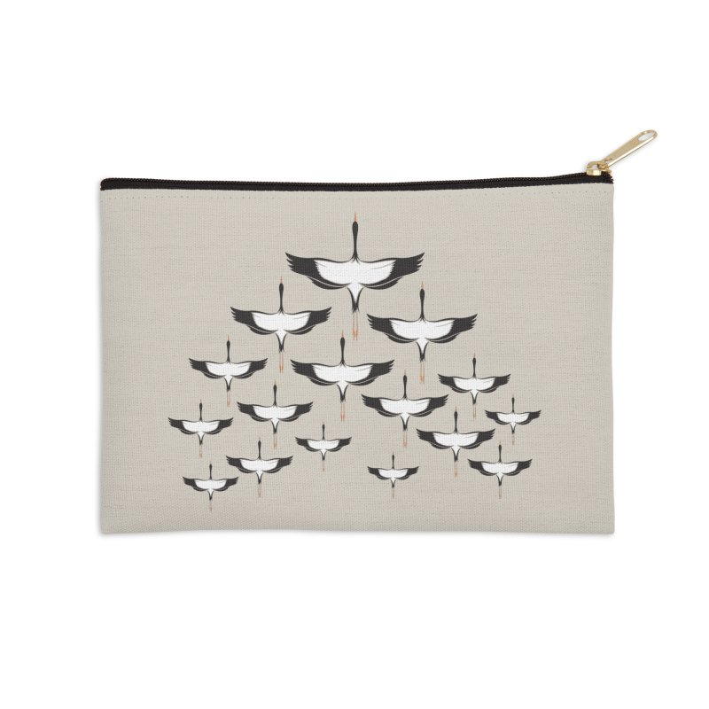 Chevron Accessories Zip Pouch by YANMOS