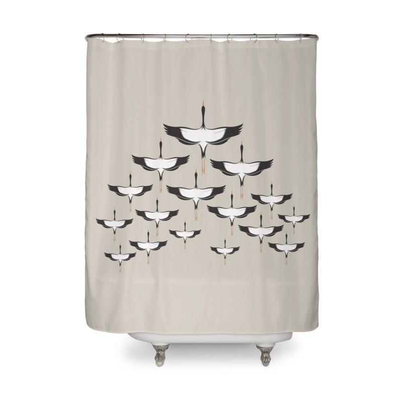Chevron Home Shower Curtain by YANMOS