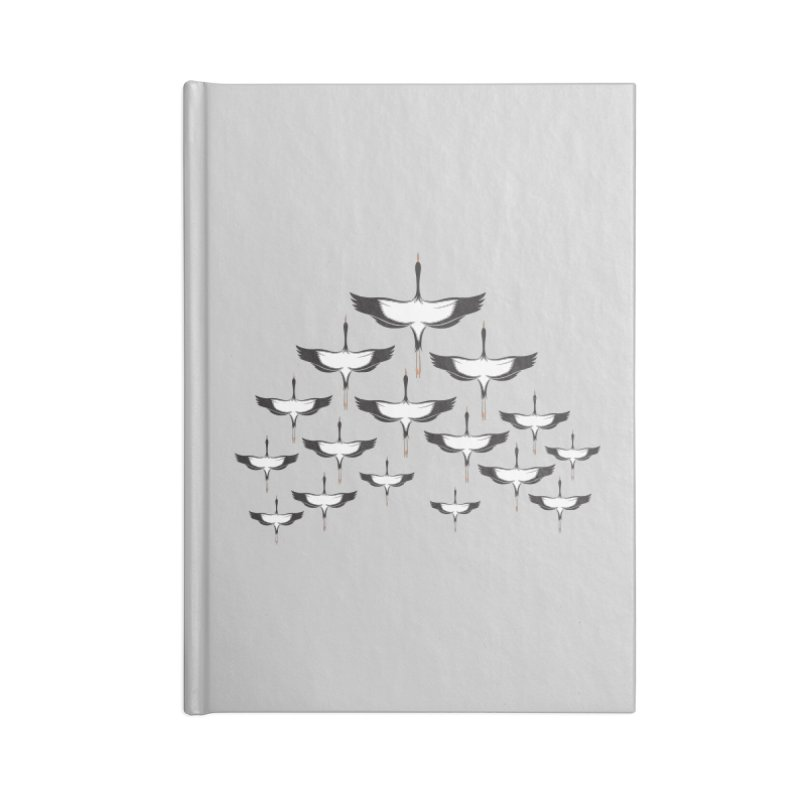Chevron Accessories Blank Journal Notebook by YANMOS