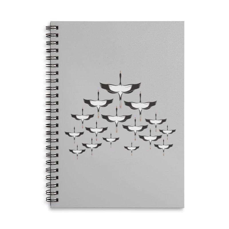 Chevron Accessories Lined Spiral Notebook by YANMOS