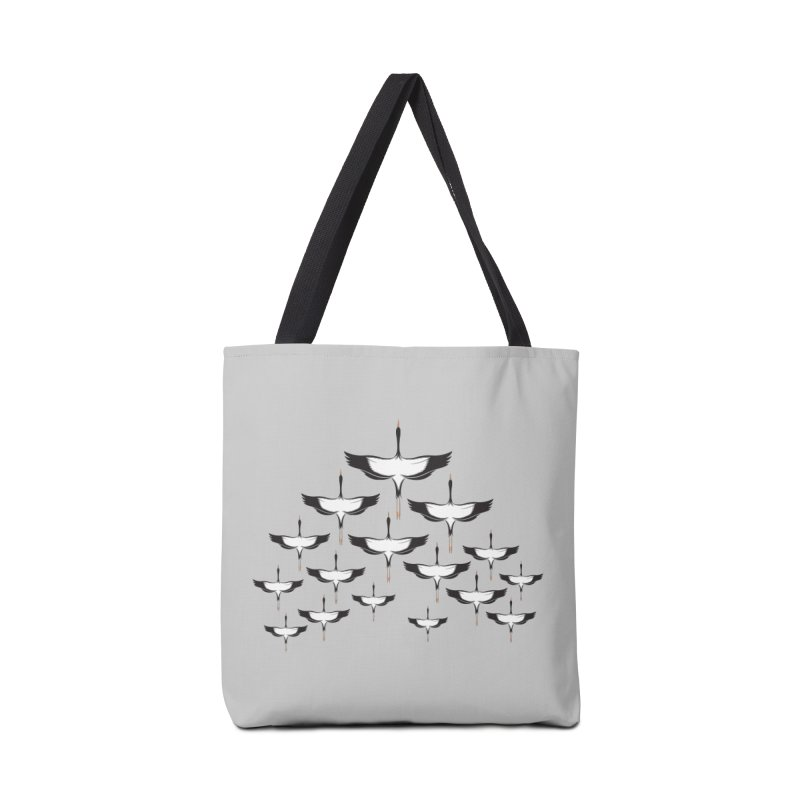 Chevron Accessories Tote Bag Bag by YANMOS