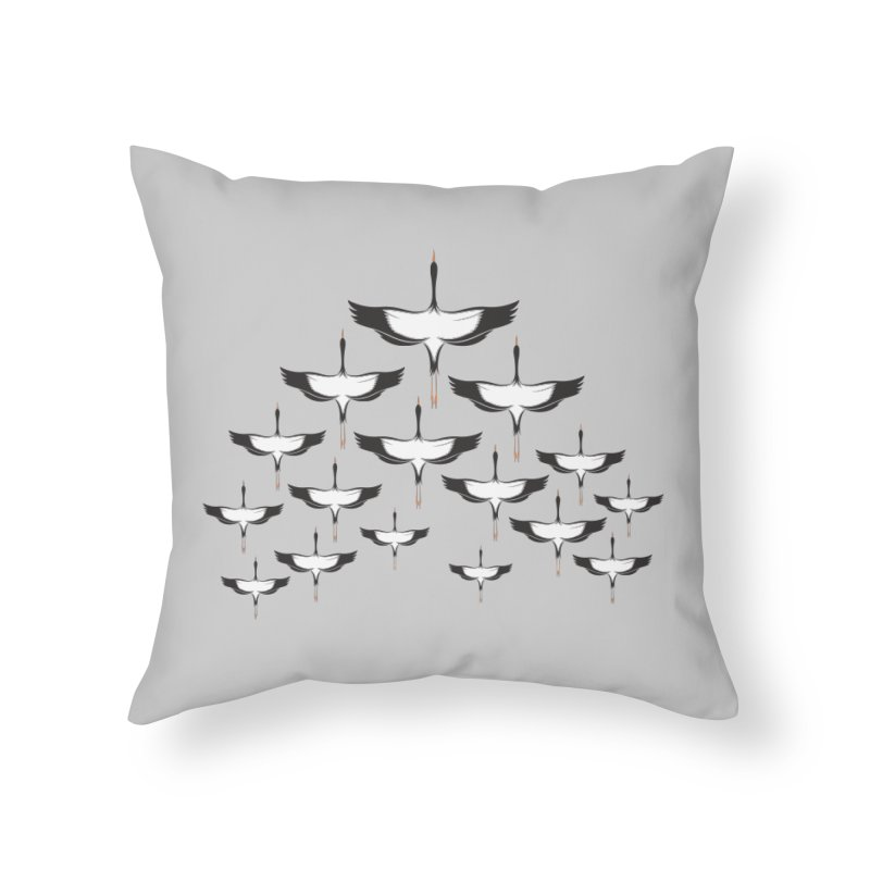 Chevron Home Throw Pillow by YANMOS