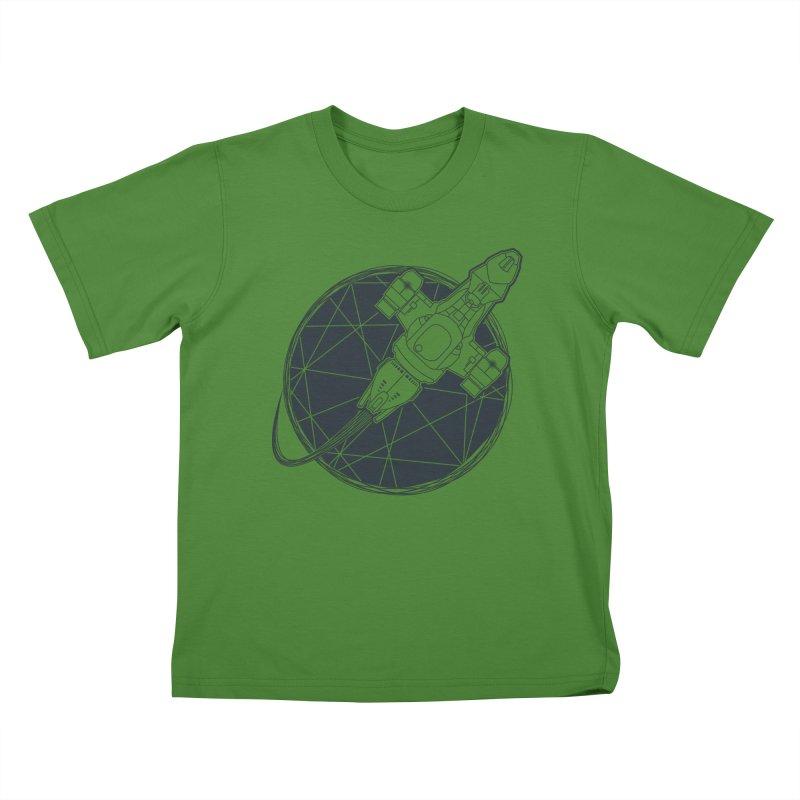 Shining star Kids T-shirt by Yanmos's Artist Shop