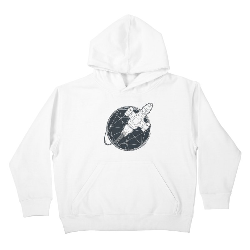 Shining star Kids Pullover Hoody by Yanmos's Artist Shop