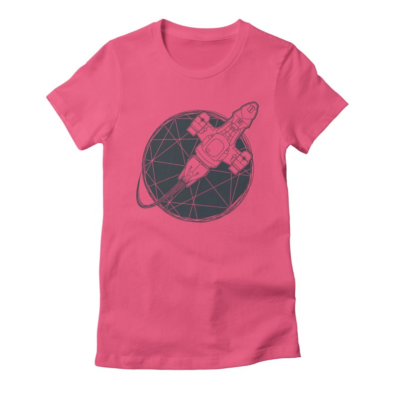 Shining star Women's Fitted T-Shirt by Yanmos's Artist Shop