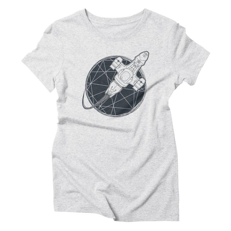 Shining star Women's Triblend T-shirt by Yanmos's Artist Shop