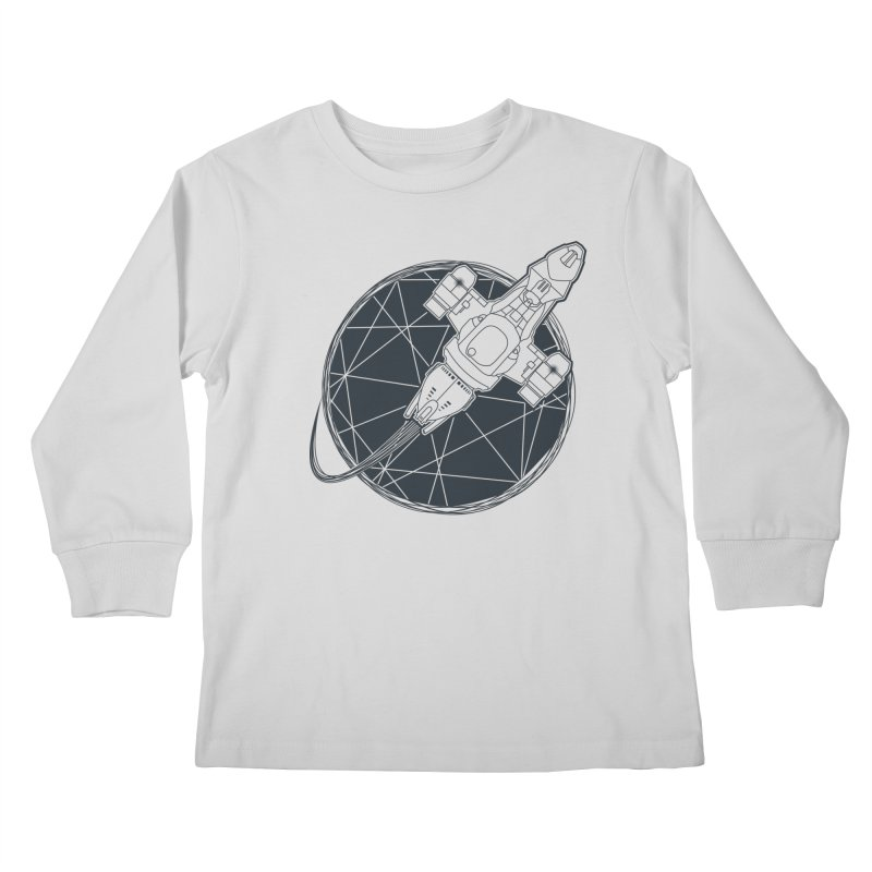 Shining star Kids Longsleeve T-Shirt by Yanmos's Artist Shop