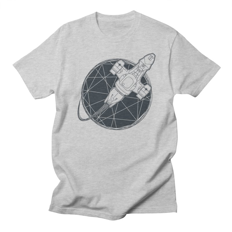 Shining star in Men's T-Shirt Heather Grey by YANMOS