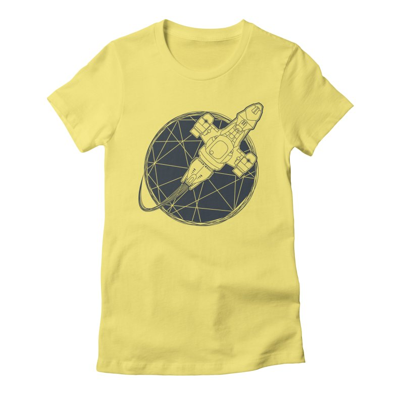 Shining star Women's Fitted T-Shirt by YANMOS