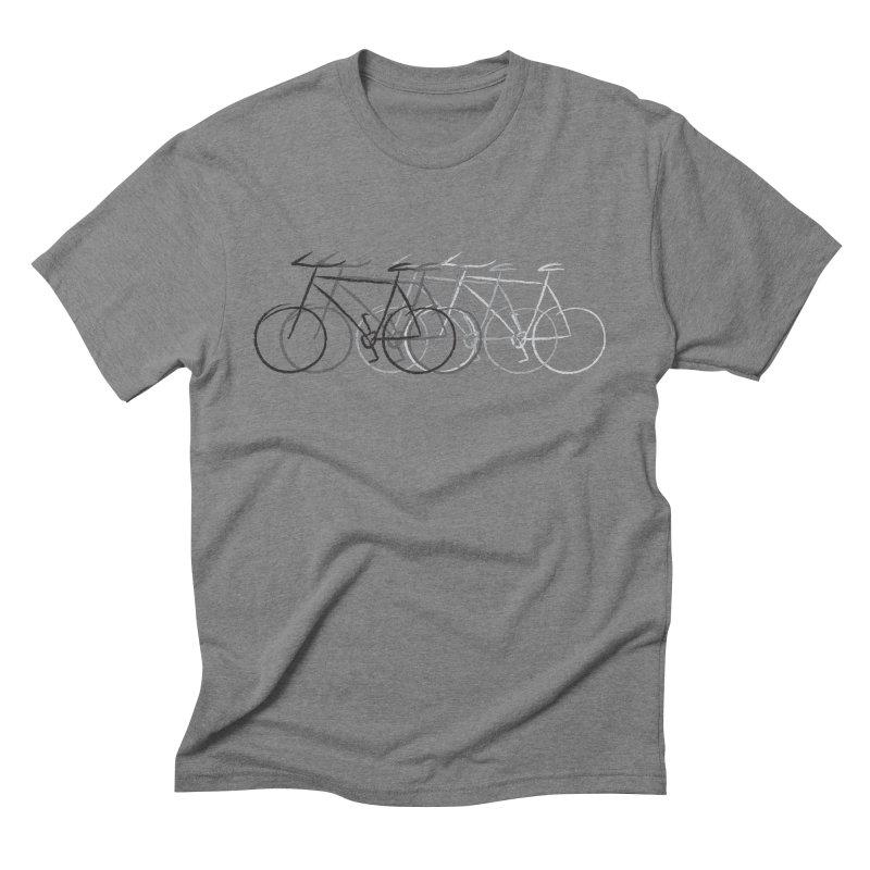 Just bike Men's Triblend T-shirt by Yanmos's Artist Shop