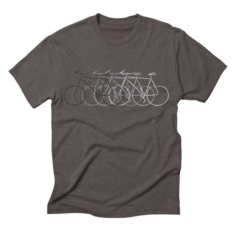 Just bike Men's Triblend T-shirt by Yanmos's Artist Shop
