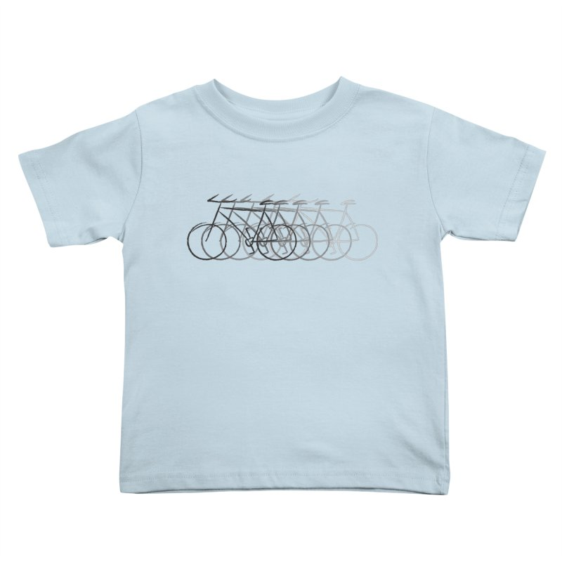 Just bike Kids Toddler T-Shirt by Yanmos's Artist Shop