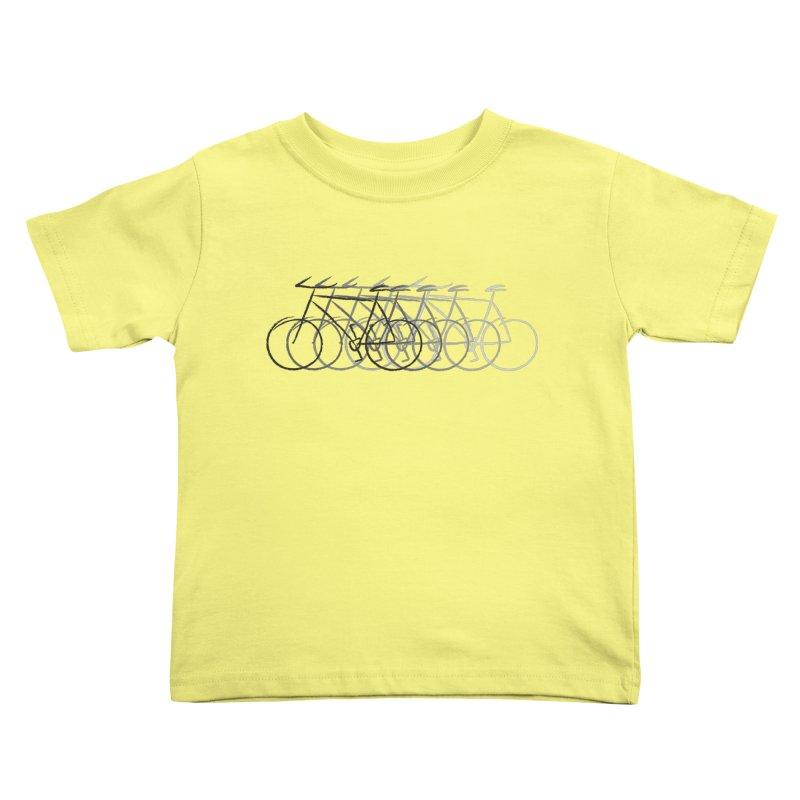 Just bike Kids Toddler T-Shirt by Yanmos's Artist Shop