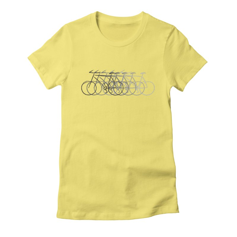 Just bike Women's Fitted T-Shirt by YANMOS