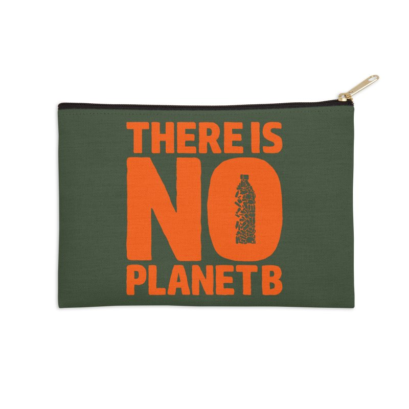 No Planet B Accessories Zip Pouch by YANMOS