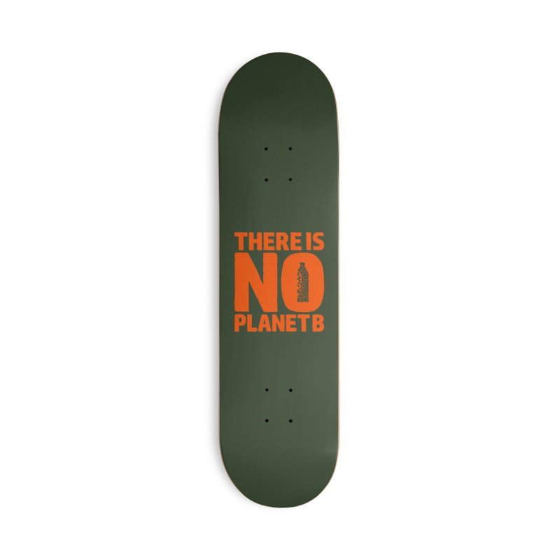 No Planet B Accessories Deck Only Skateboard by YANMOS