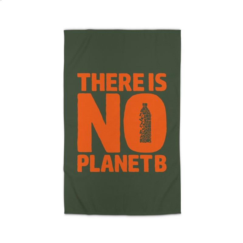No Planet B Home Rug by YANMOS