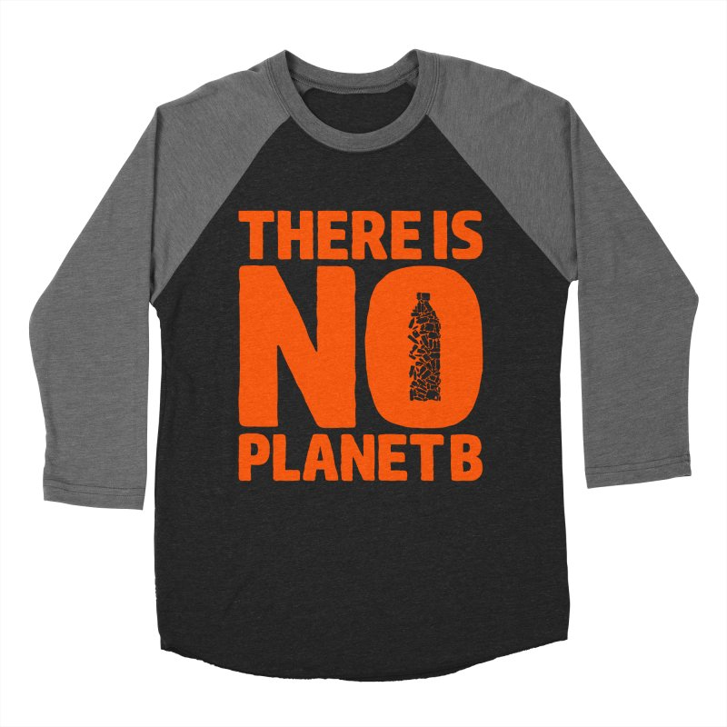 No Planet B Men's Baseball Triblend Longsleeve T-Shirt by YANMOS