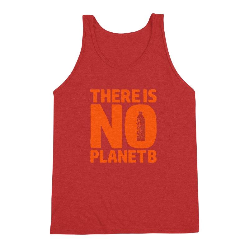 No Planet B Men's Triblend Tank by YANMOS