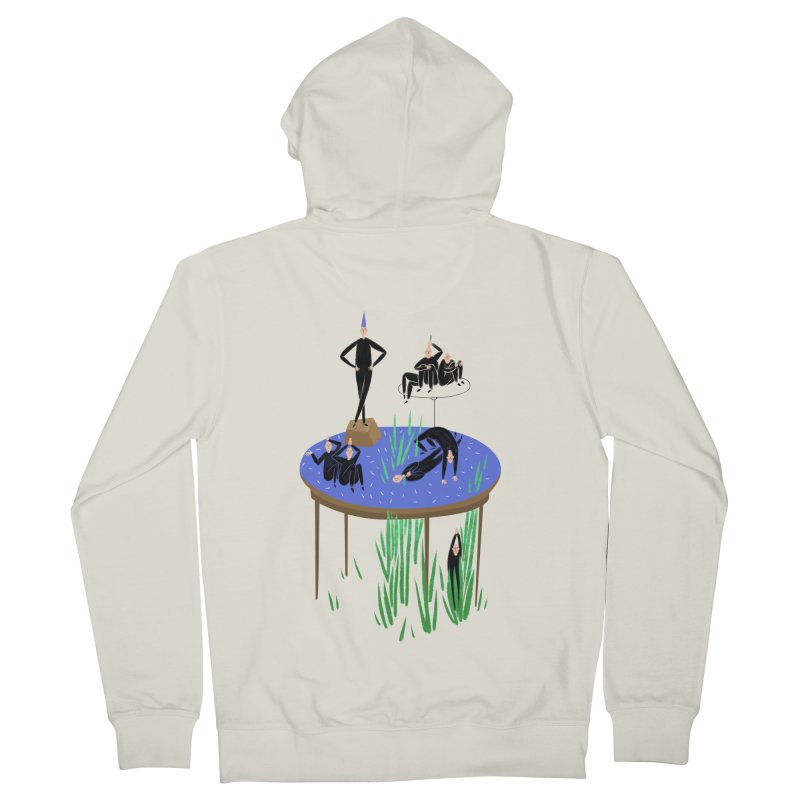 human stilllife 2 Women's Zip-Up Hoody by yannachinz's Artist Shop