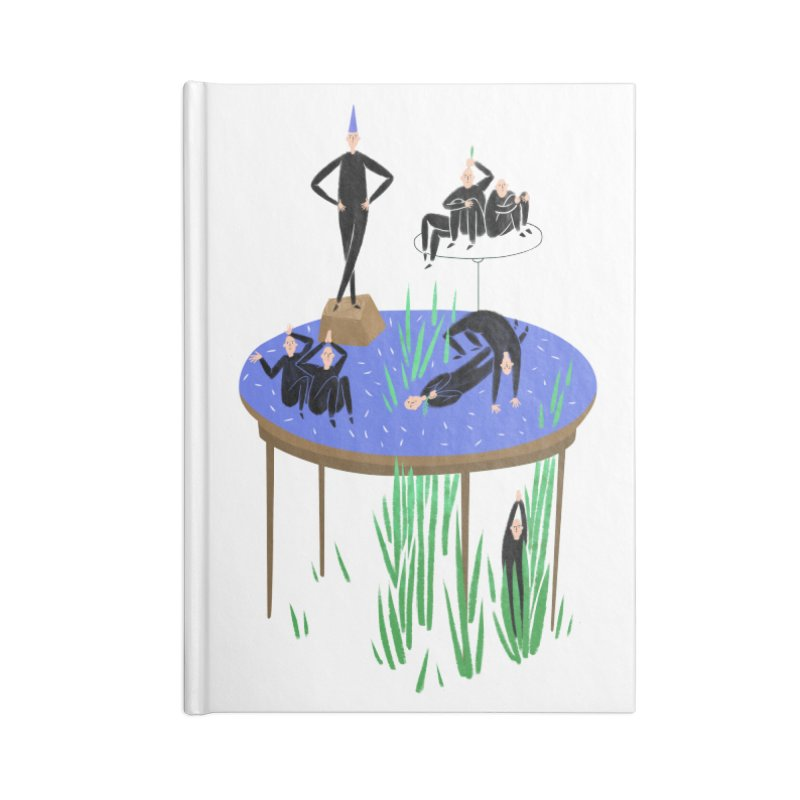 human stilllife 2 Accessories Notebook by yannachinz's Artist Shop