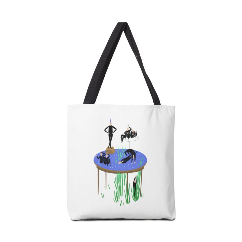 human stilllife 2 Accessories Bag by yannachinz's Artist Shop