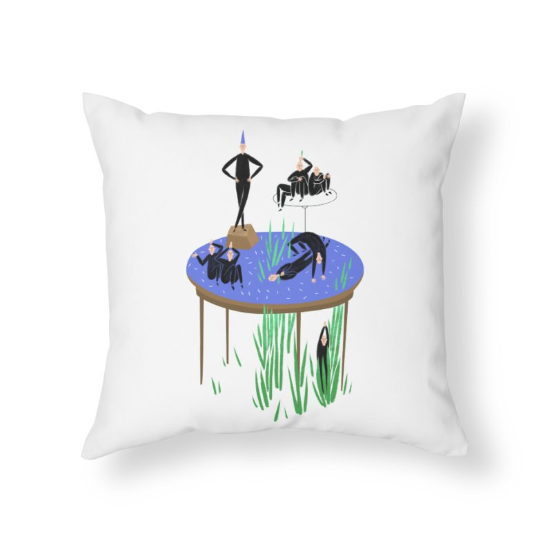 human stilllife 2 Home Throw Pillow by yannachinz's Artist Shop