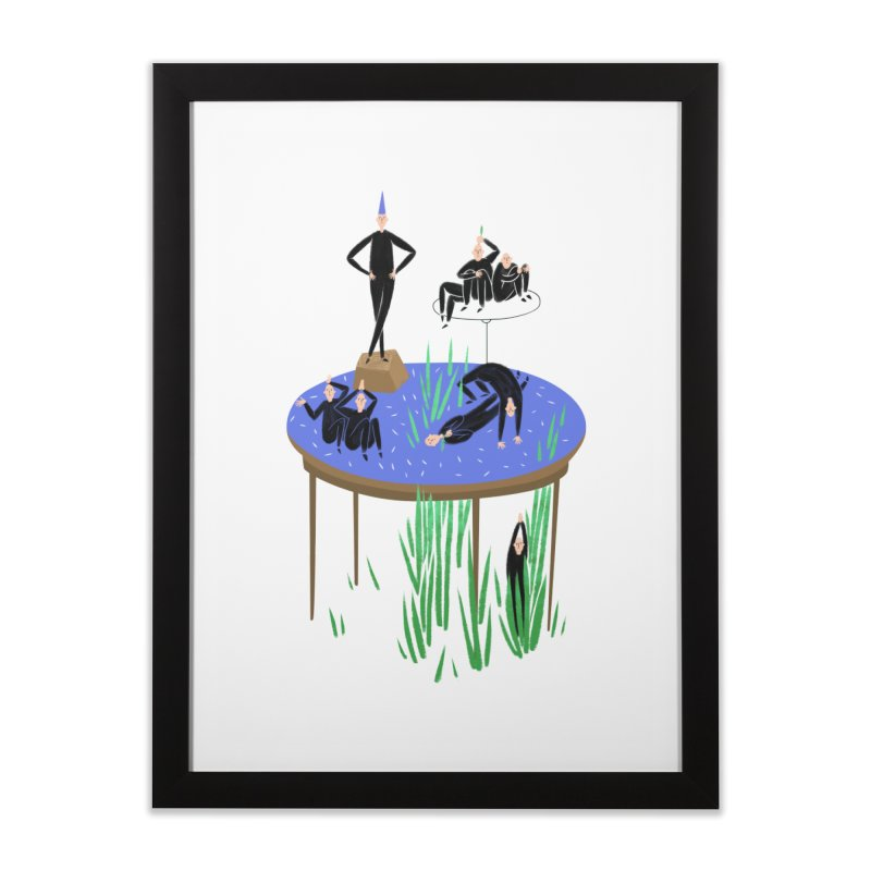 human stilllife 2 Home Framed Fine Art Print by yannachinz's Artist Shop
