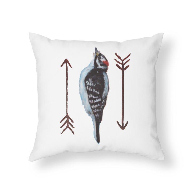 Nest Fiasco Home Throw Pillow by yardwolves's Artist Shop