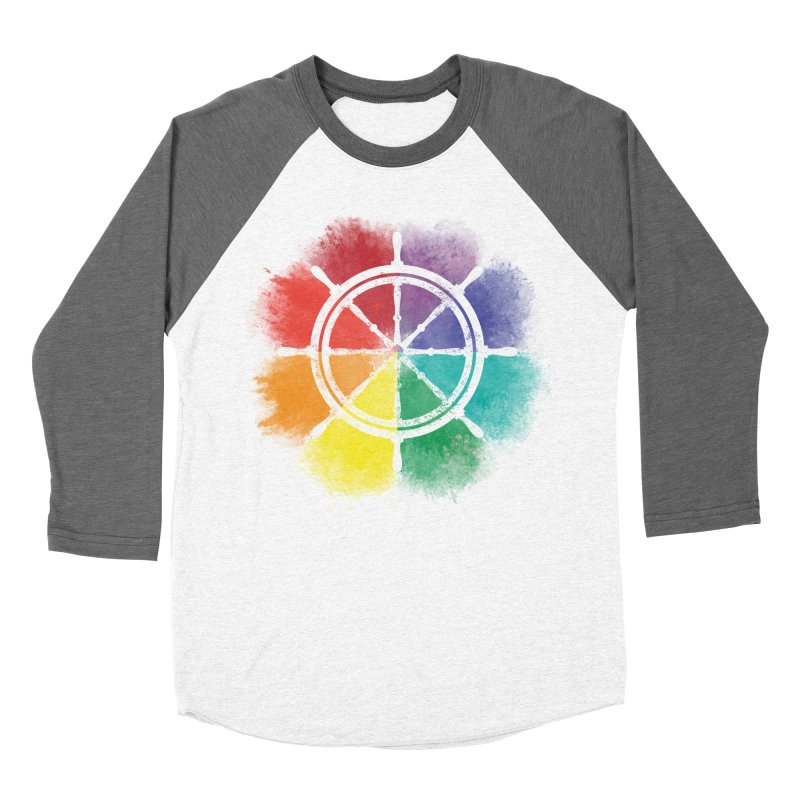 Color Wheel Women's Baseball Triblend Longsleeve T-Shirt by Yargyle's Artist Shop