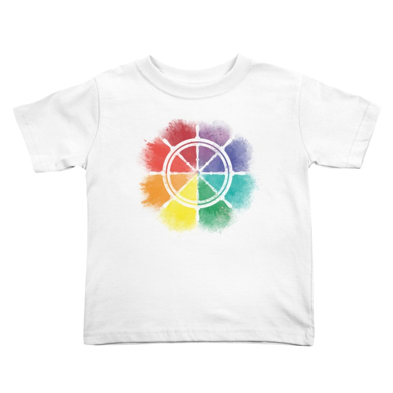 Color Wheel Kids Toddler T-Shirt by Yargyle's Artist Shop