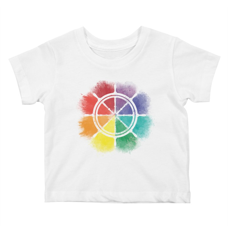 Color Wheel Kids Baby T-Shirt by Yargyle's Artist Shop