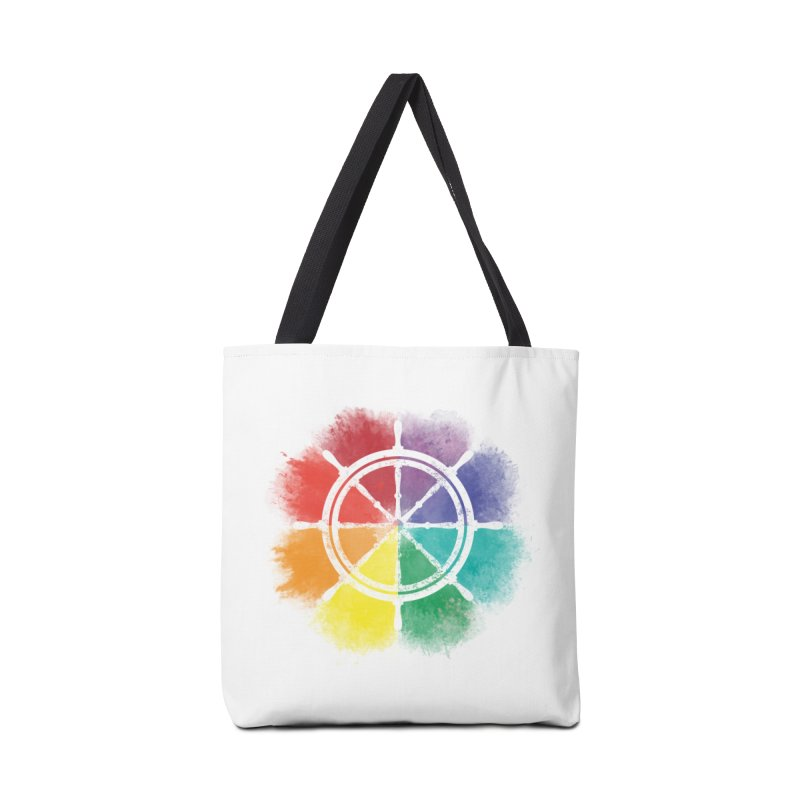 Color Wheel Accessories Bag by Yargyle's Artist Shop