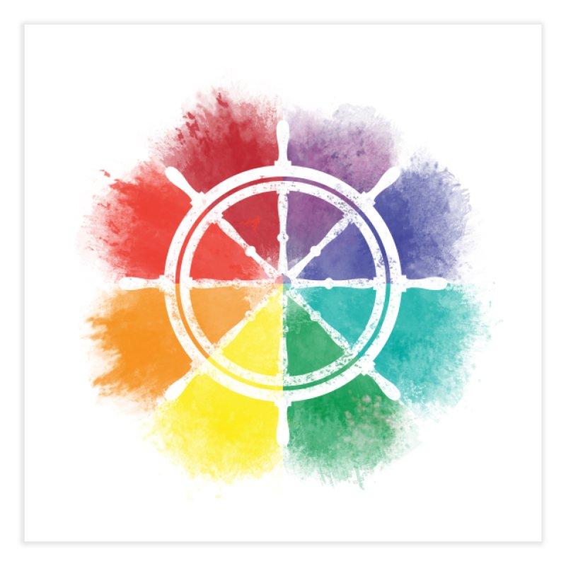 Color Wheel Home Fine Art Print by Yargyle's Artist Shop