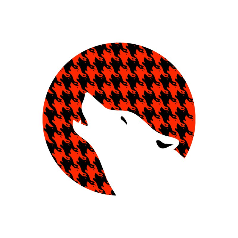 Howling Houndstooth by Yargyle's Artist Shop