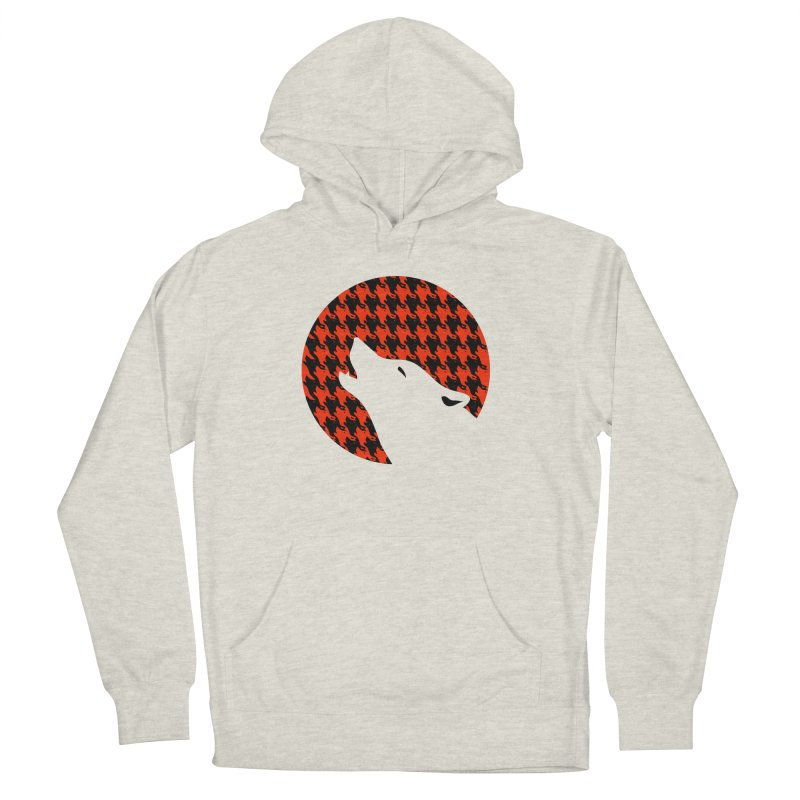 Howling Houndstooth Women's Pullover Hoody by Yargyle's Artist Shop