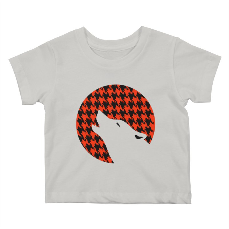 Howling Houndstooth Kids  by Yargyle's Artist Shop