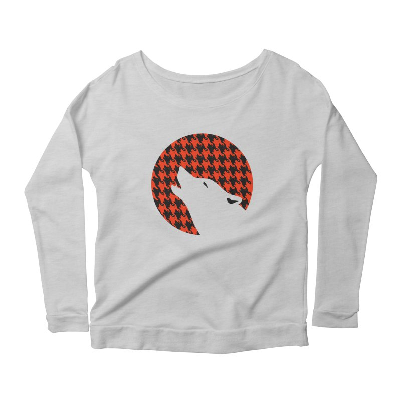 Howling Houndstooth Women's  by Yargyle's Artist Shop