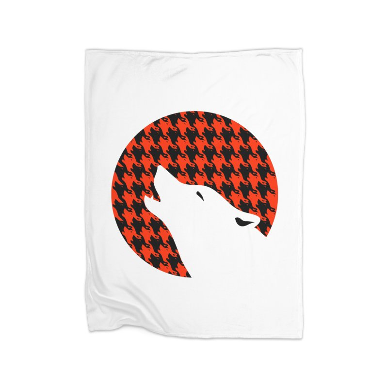 Howling Houndstooth Home Blanket by Yargyle's Artist Shop