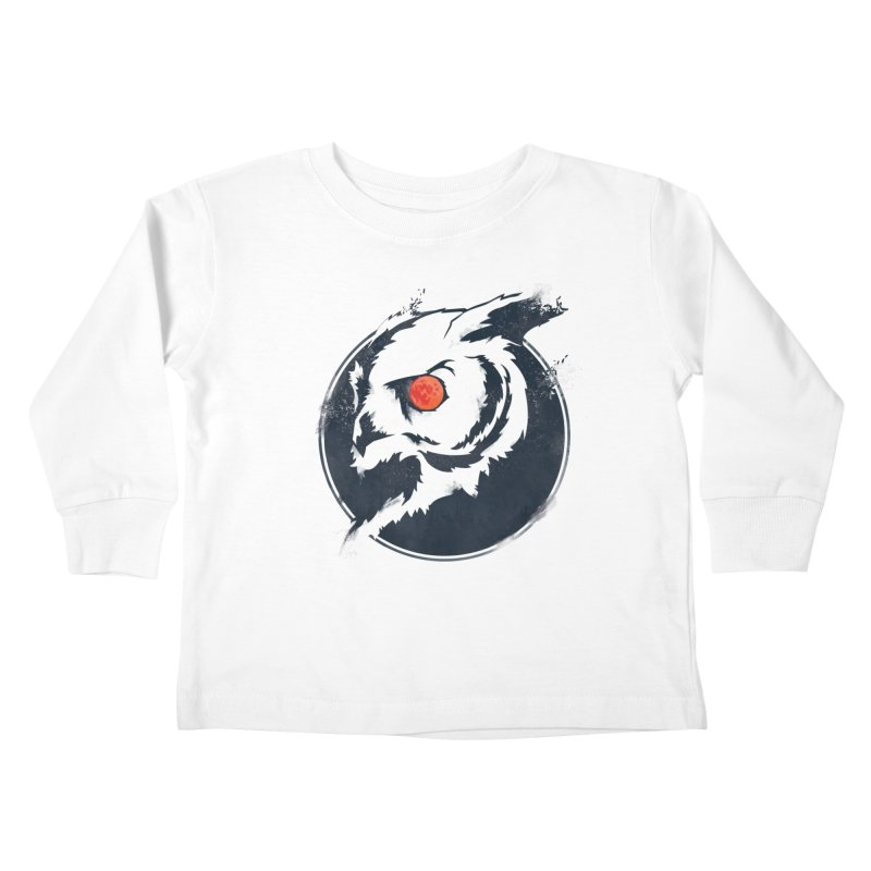 Night Vision Kids Toddler Longsleeve T-Shirt by Yargyle's Artist Shop