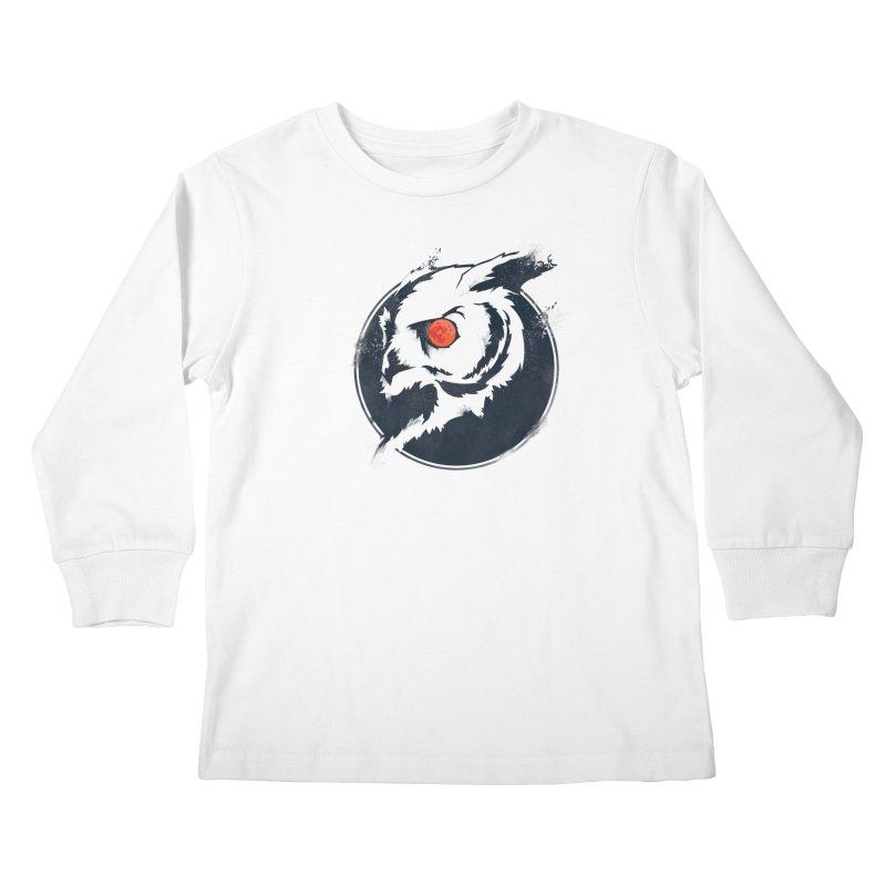 Night Vision Kids Longsleeve T-Shirt by Yargyle's Artist Shop