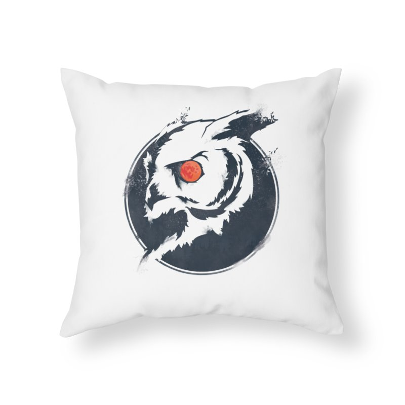 Night Vision Home Throw Pillow by Yargyle's Artist Shop
