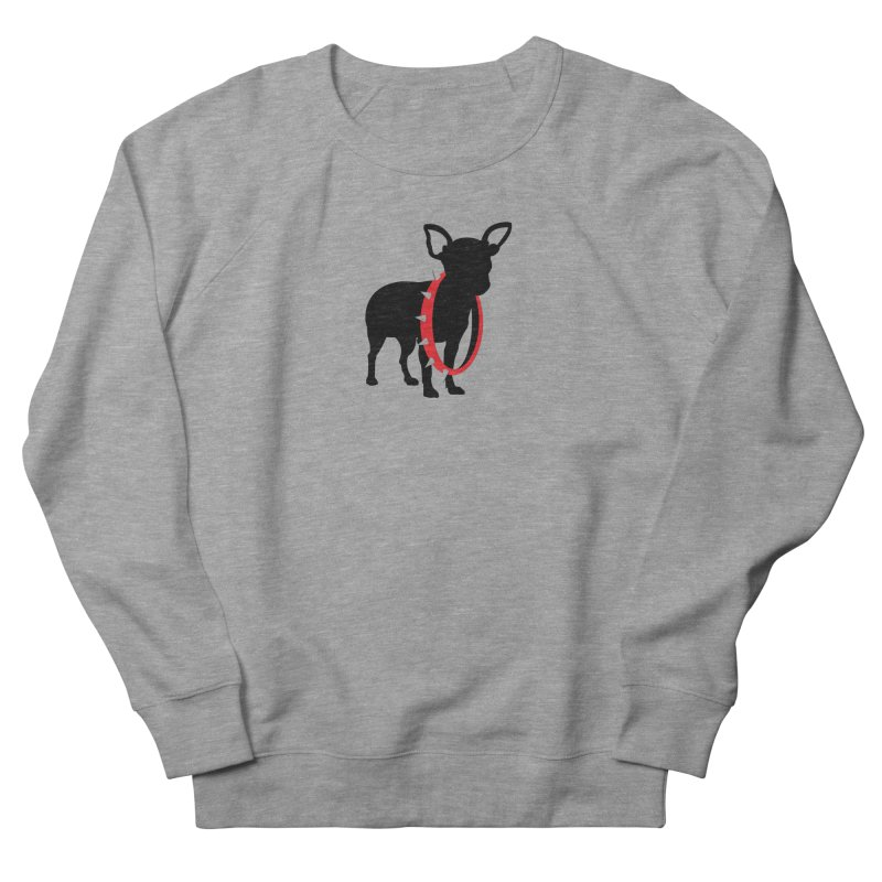 Underdog Women's French Terry Sweatshirt by Yargyle's Artist Shop
