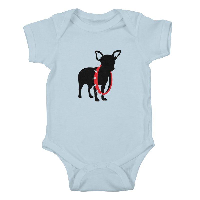 Underdog Kids Baby Bodysuit by Yargyle's Artist Shop