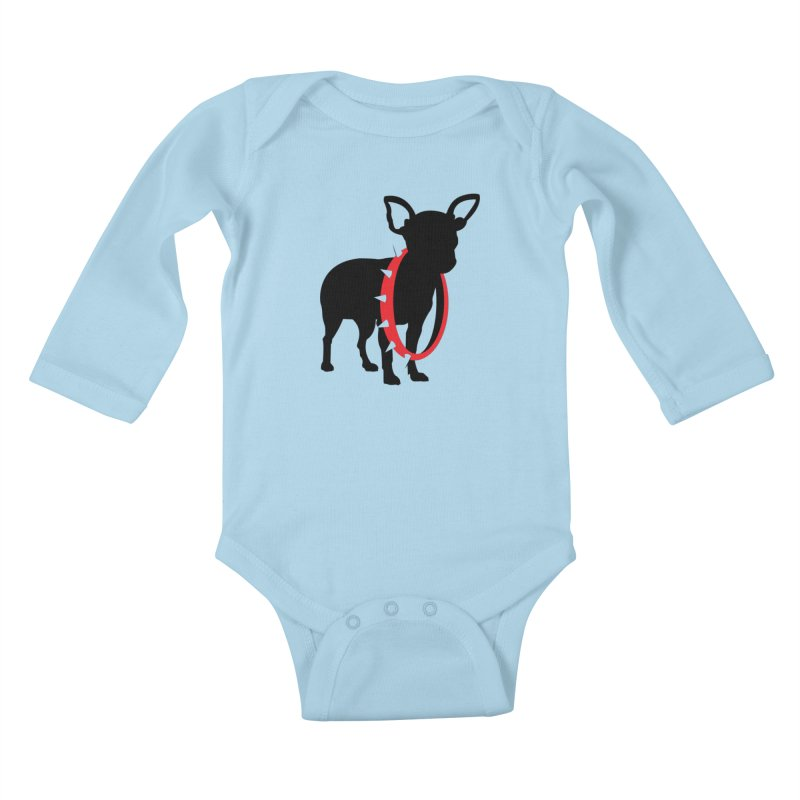 Underdog Kids Baby Longsleeve Bodysuit by Yargyle's Artist Shop