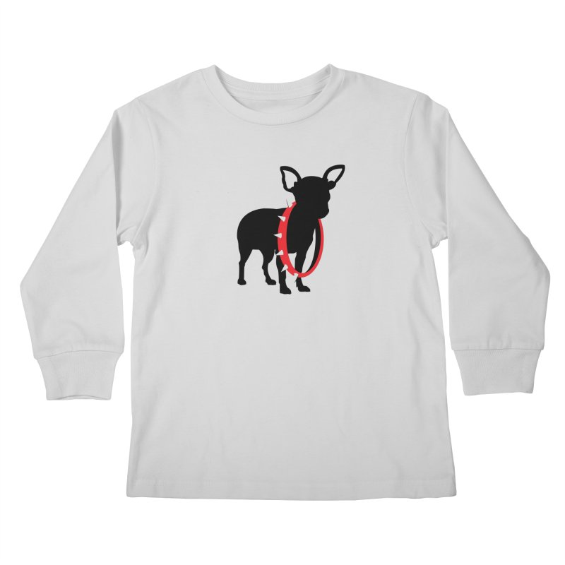 Underdog Kids Longsleeve T-Shirt by Yargyle's Artist Shop